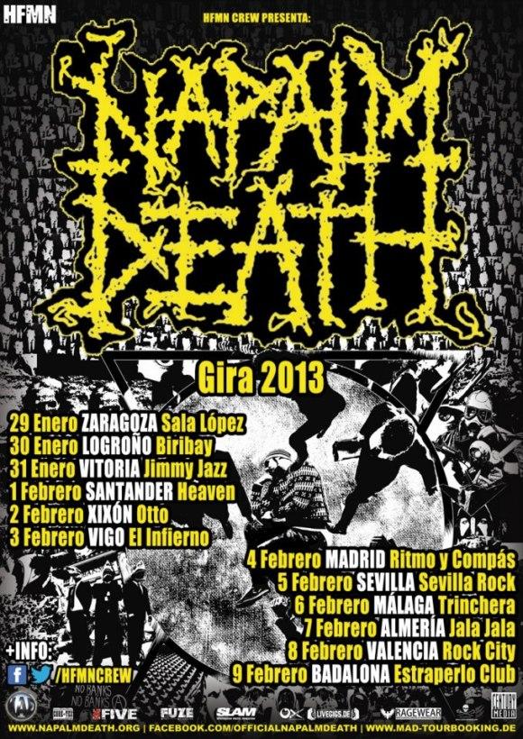 Napalm-Death-gira-2013